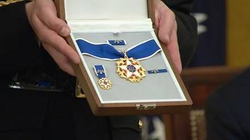 trump presides over first medal of freedom ceremony