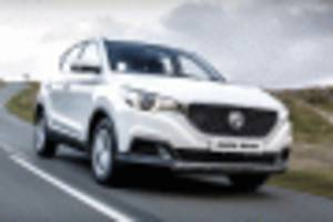 mg ezs is first electric car from british brand