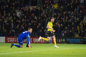 scott fraser on his frustrations in front of goal and claiming the opener against nottingham forest