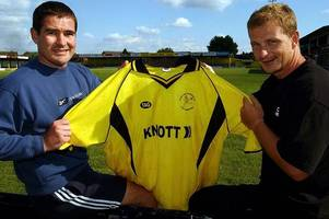 when coventry city manager mark robins was a burton albion player