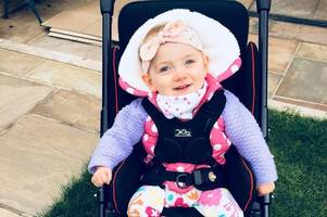 doctors say this adorable little girl will never sit, stand, walk or talk - and she needs your help