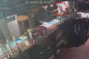 CCTV shows sneaky thief steal Royal British Legion tin from Old Market Tavern