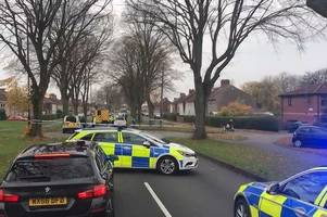 motorcyclist hospitalised with 'serious injuries' after knowle crash in broad walk