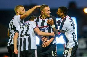 charles vernam targets more grimsby town goals ahead of league two clash with crawley