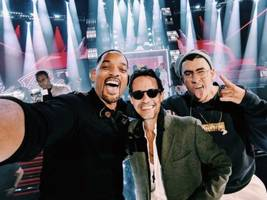 will smith has us ready for salsa w/ this latin grammys selfie