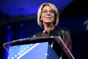 betsy devos to alter sexual misconduct guidelines to bolster rights of accused