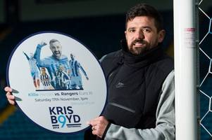 rangers hero nacho novo opens up on returning to football pitch for first time since heart attack
