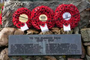 why do people in castle douglas think it's important we still remark remembrance sunday?