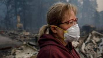 California wildfires: Air quality rated 'world's worst'