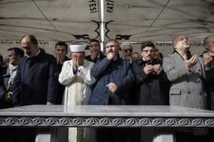 Funeral prayers for Jamal Khashoggi ring out in absentia