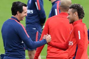 arsenal fans will absolutely love what neymar has predicted unai emery will do