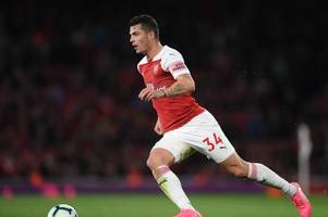 'it is clearly a dream' - granit xhaka hints at arsenal exit as he discusses his future