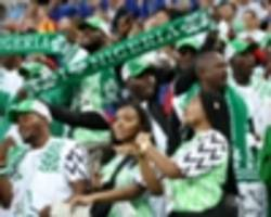 south africa vs. nigeria: how twitter reacted to the first half