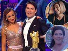 children in need: boyzone's shayne lynch wins strictly come dancing special
