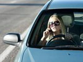 police find 33% fewer drivers using their phone at the wheel