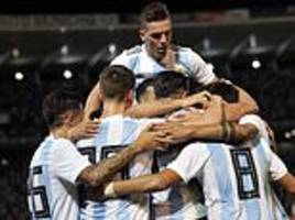 Argentina 2-0 Mexico: Ramiro Funes Mori header and Isaac Brizuel own goal secure comfortable win