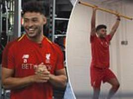 Liverpool's Alex Oxlade-Chamberlain hails support of Klopp and Brewster during injury hell