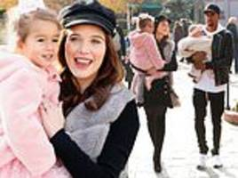 helen flanagan oozes winter chic as she heads to disneyland paris with fiancé and daughters