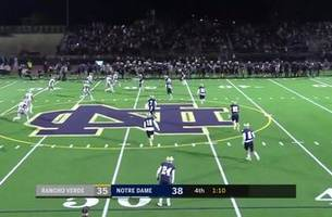 Playoffs, Semifinals: Rancho Verde recovers their onside kick to stay alive