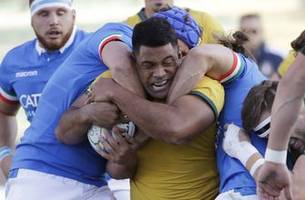 Wallabies weather early scare to beat Italy 26-7