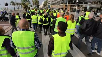 France fuel protest: Thousands march in yellow vests over diesel tax