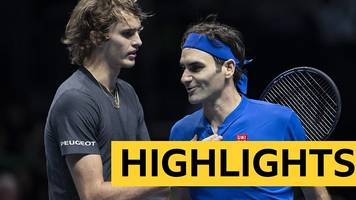 ATP Finals: Roger Federer beaten by Alexander Zverev in semi-finals
