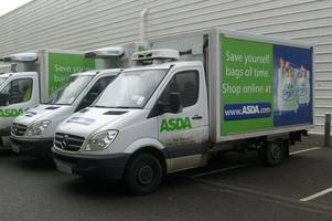 These are Christmas delivery slots for Asda and Tesco and you need to be quick