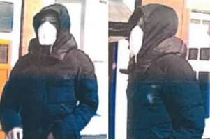 do you know him? picture clue after knifepoint robbery at leicestershire village shop