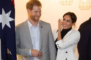 Prince Harry and Meghan Markle forced to change plans to move - because of senior Royal