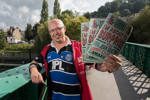 Photos show thanksgiving service and 'perfect send off' for well-known Bath Big Issue seller