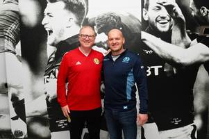 alex mcleish on his meeting with gregor townsend and improving scotland