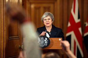 theresa may has been waiting for this showdown with her critics and may even relish the battle ahead