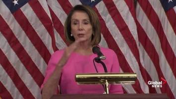 Donald Trump continues to offer help for Nancy Pelosi's House speaker bid