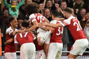 ray parlour picks out the two most important players in unai emery's revolution at arsenal