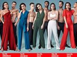 how better to kick off the festive revelries than the cast of magic mike and this season's jumpsuits