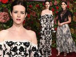 jenna coleman and claire foy attend evening standard theatre awards