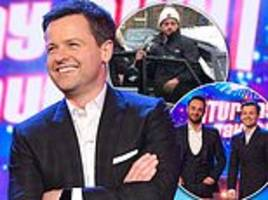 talk of the town: early promo material for britain's got talent hints that ant won't appear
