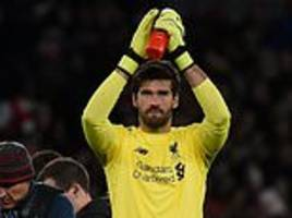 brazil legend dida insists liverpool stopper alisson can achieve greatness while at anfield