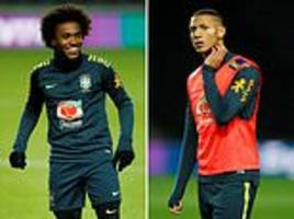 brazil look ready to extend their winning run as tite's resurgent side look to rebuild