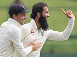 england secure series victory over sri lanka after moeen ali and jack leach strike early
