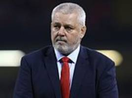 warren gatland's wales are looking to extend winning run against south africa