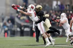 Wisconsin celebrates Taylor-made OT victory at Purdue