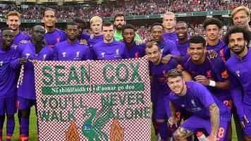 anfield attack: sean cox's brothers praise fans' help