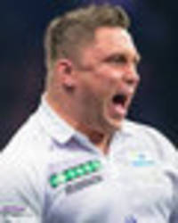 grand slam of darts: gerwyn price bumps gary anderson who pushes back in explosive final