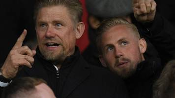 Leicester City helicopter crash: Peter Schmeichel 'proud' of son Kasper's reaction