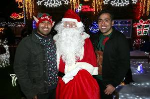 notts family host festive light switch-on at their home with gogglebox stars as special guests
