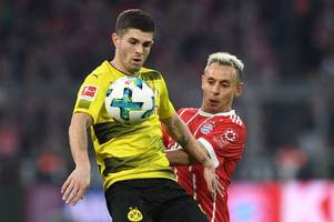 liverpool to cash in on fabinho to land £70m pulisic? manchester united's six january targets