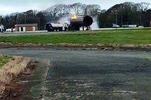 This is why emergency services were at Newquay Airport
