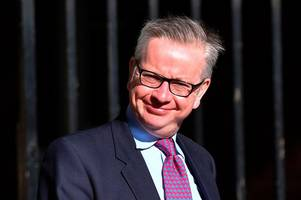 michael gove may be a maniac but he's not daft enough for brexit poisoned chalice