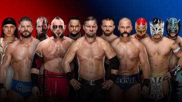 All the WWE Survivor Series Match Results